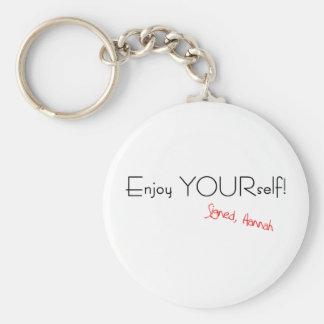Enjoy YOURself! Keychain