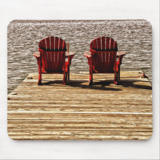 Enjoying Life At The Cottage Mouse Pad