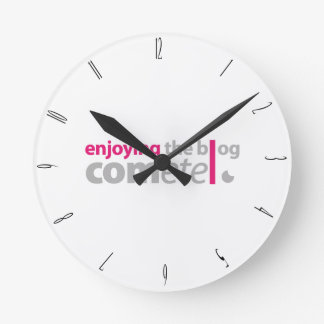 Enjoying the blog Commits the point Round Clock