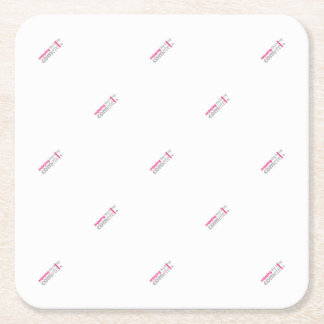 Enjoying the blog Commits the point Square Paper Coaster