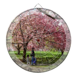 Enjoying the Cherry Trees Dartboard