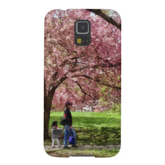 Enjoying the Cherry Trees Galaxy S5 Covers
