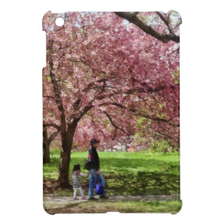 Enjoying the Cherry Trees iPad Mini Cover