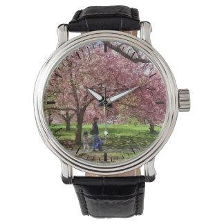Enjoying the Cherry Trees Watch