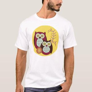 Enjoying the Sunshine Owls Circle T-Shirt