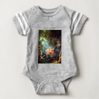 ENJOYING THE SWING BABY BODYSUIT