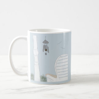 Enjoying the Wind Chimes Mug