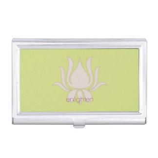 Enlighten Lotus Flower Business Card Holder