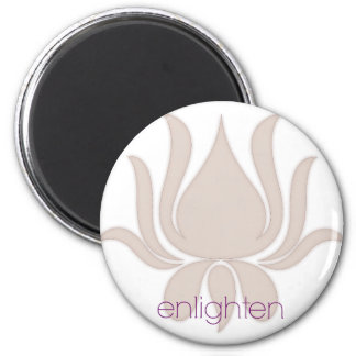 Enlighten Lotus Magnet