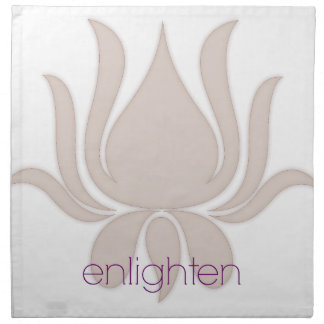 Enlighten Lotus Napkin