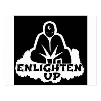Enlighten Up Postcard
