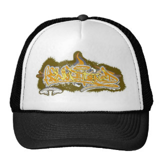 Enlightened Flame Graffiti Hat