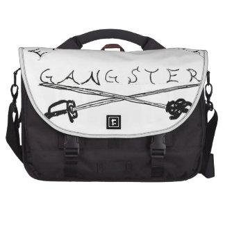 Enlightened Gangster swords Laptop Shoulder Bag