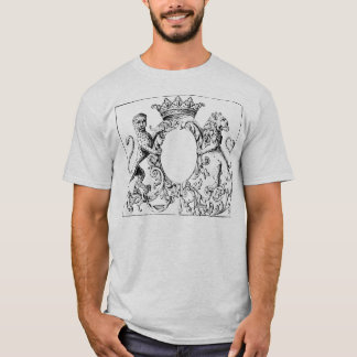 Enlightened Panther Mirror Ash T-Shirt