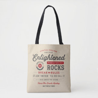 Enlightened Prosperity Rocks Bag