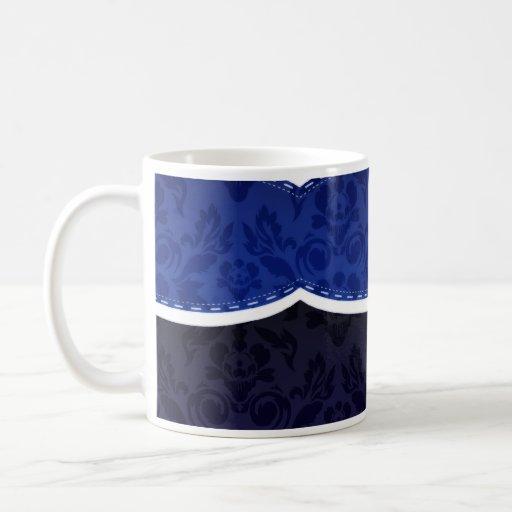 Enlightening Blue floral wedding gift Coffee Mug