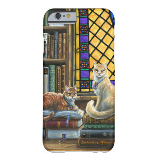 Enlightenment Library Cats iPhone 6s, Barely There Barely There iPhone 6 Case