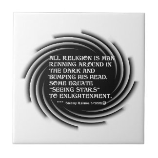 Enlightenment Quote large tile
