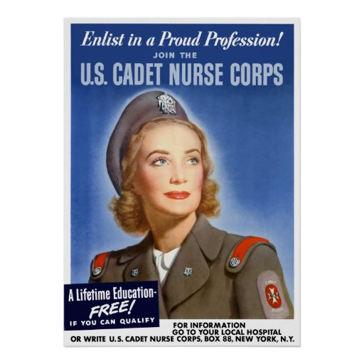Enlist In A Proud Profession! Poster