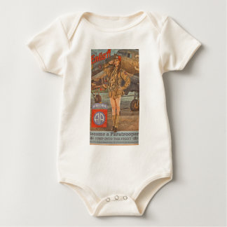 Enlist In The 82nd Airborne Baby Bodysuit