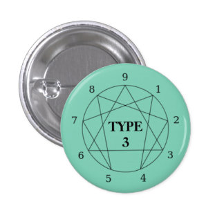 Enneagram Type 3 Button