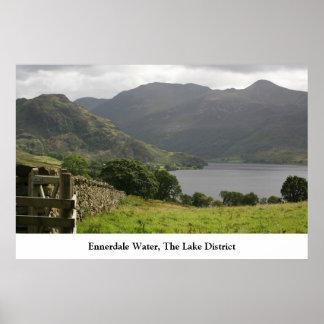 Ennerdale Water, The English Lake District Poster