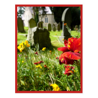 Enniskerry Churchyard Postcard