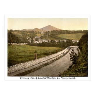 Enniskerry Village, Sugarloaf Mountain Wicklow Postcard