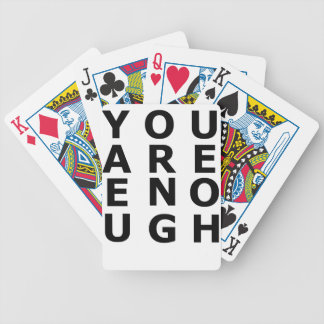 enough bicycle playing cards