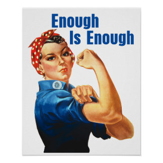 Enough Is Enough Poster