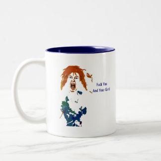 Enough! Two-Tone Coffee Mug