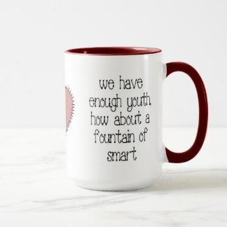 Enough Youth Coffee Mug