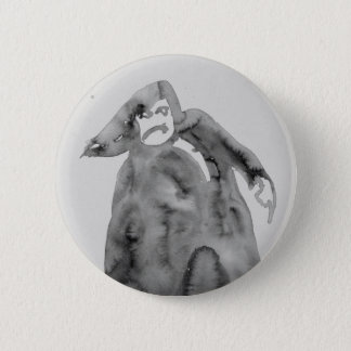 Enraged old man 2 inch round button