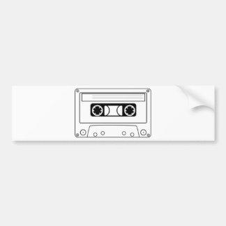 Enregistreur à cassettes autocollant de voiture
