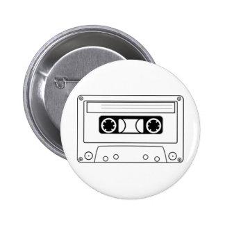Enregistreur à cassettes badges avec agrafe