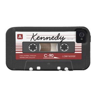 Enregistreur à cassettes coque Case-Mate iPhone 4