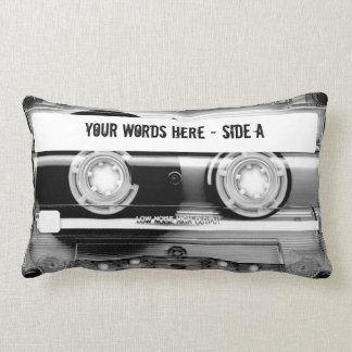 Enregistreur à cassettes Mixtape (personnalisé) Coussin Décoratif