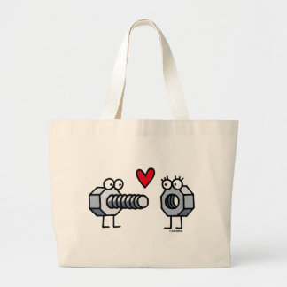 Enrosque Large Tote Bag