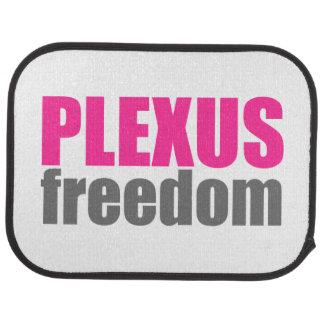 Ensemble de liberté de plexus de 2 tapis de tapis de voiture