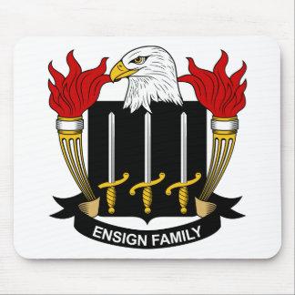 Ensign Family Crest Mouse Pad