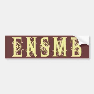 ENSMB light acronym sticker