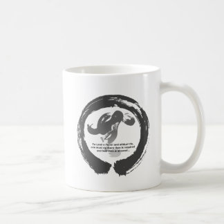 Enso, Japanese Circle with Mu Kanji, Nothingness Coffee Mug