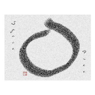 enso SpaceFree Postcard