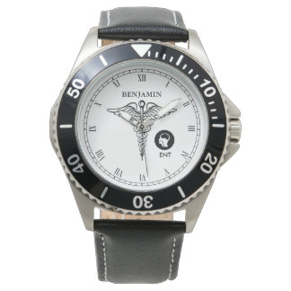 ENT | Otorhinolaryngology Personalized Name Watch