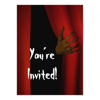 Enter Halloween Card