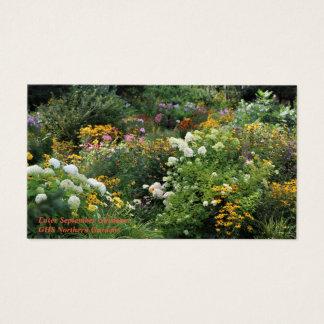 Enter September Gardens! Business Card
