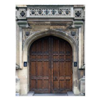 Enter the Doors of Parliament - Westminster Postcard
