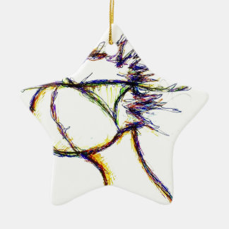 Enter the Fire Mind by: Luminosity Ceramic Ornament