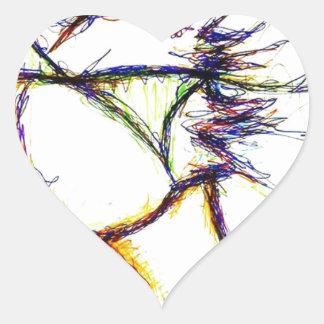 Enter the Fire Mind by: Luminosity Heart Sticker
