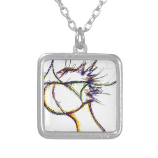 Enter the Fire Mind by: Luminosity Silver Plated Necklace